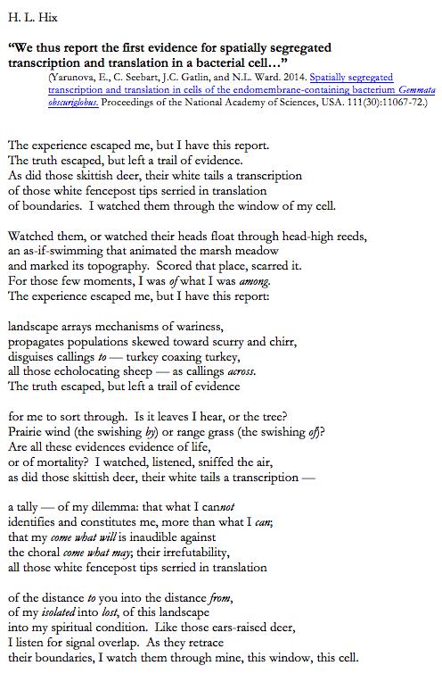 Hix Gemmata poem to post